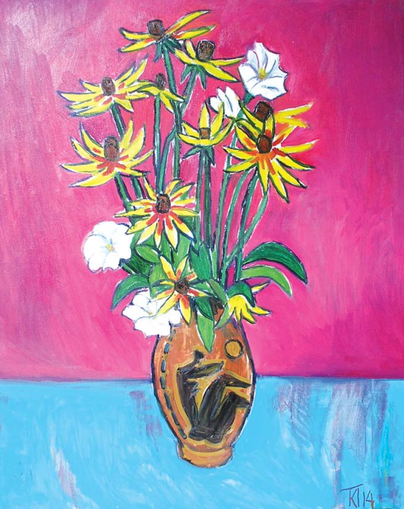 Still life with flowers 4